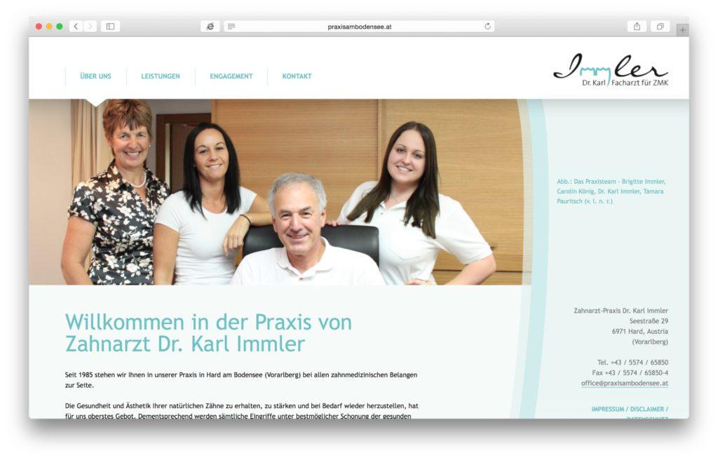 Zahnarzt Dr. Karl Immler